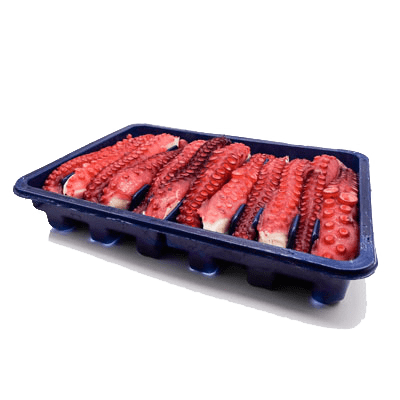 Tray with 12 spanish octopus tentacles (cooked)