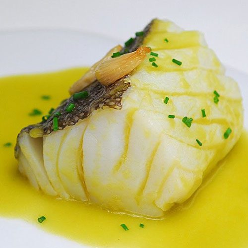 Traditional Spanish Seafood Dishes : Bacalao al pil pil