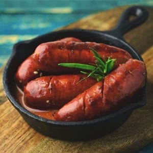Traditional chorizo Cooked